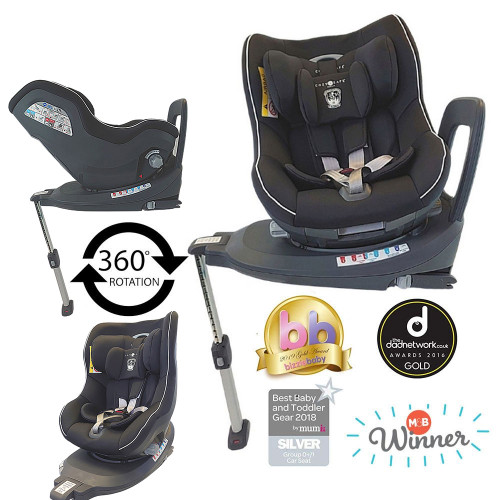 Cozy N Safe Merlin 360 0+/1 Car Seat - Onyx