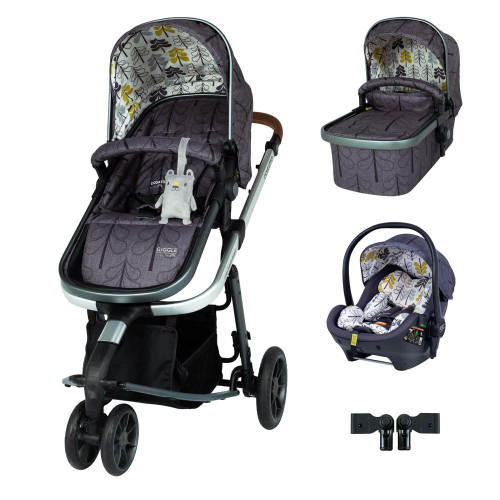 Cosatto Giggle 3 Premium Travel System Bundle - Fika Forest