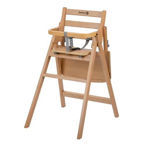 Safety 1st Nordik Folding Wooden Highchair - Natural