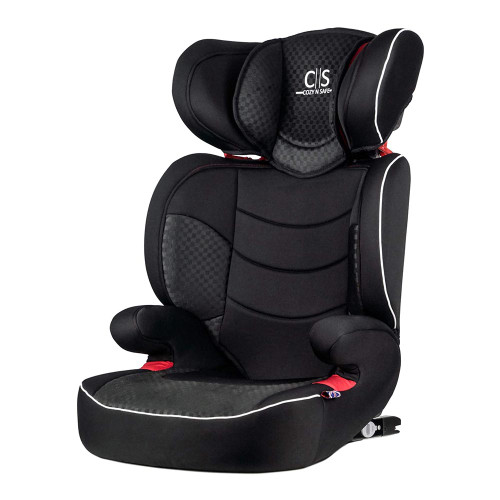 Cozy N Safe Augusta EZFix Group 2/3 Child Car Seat - Black