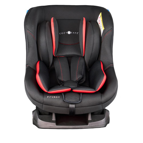 Cozy N Safe Fitzroy Group 0+/1 Child Car Seat - Black/Red