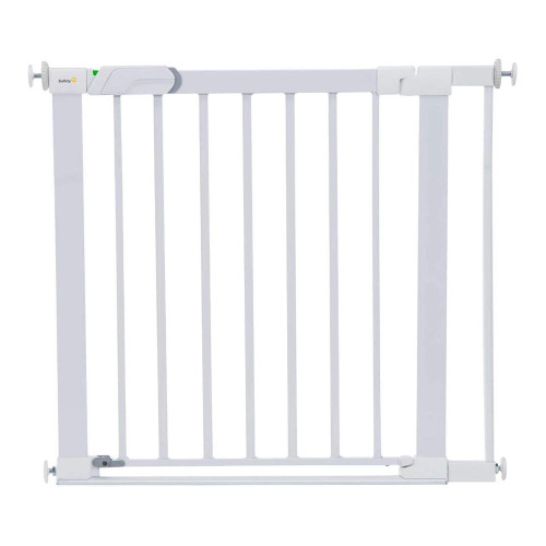 Safety 1st SecurTech® Flat Step Metal Gate - White