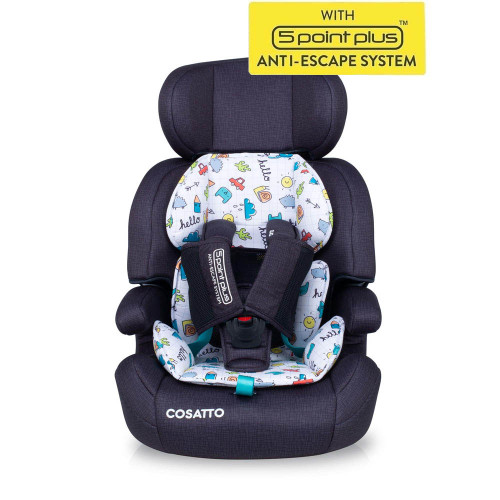 Cosatto Zoomi Group 123 Car Seat - Say Hello
