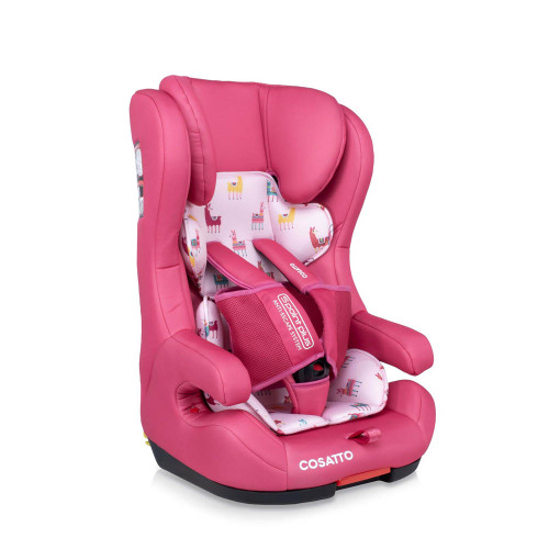 Cosatto Hubbub Isofix Group 123 Car Seat - Pink Llama