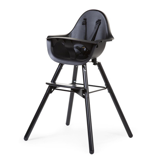 Childhome Evolu 2 Highchair - Black/Black