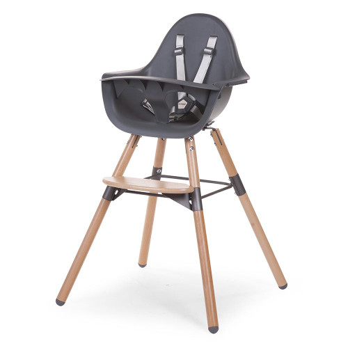 Childhome Evolu 2 Highchair - Natural/Anthracite