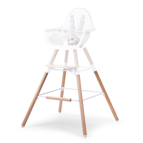 Childhome Evolu Extra Long Legs + Footstep - Natural