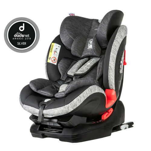Cozy N Safe Arthur 0+/1/2/3 Car Seat - Black/Grey
