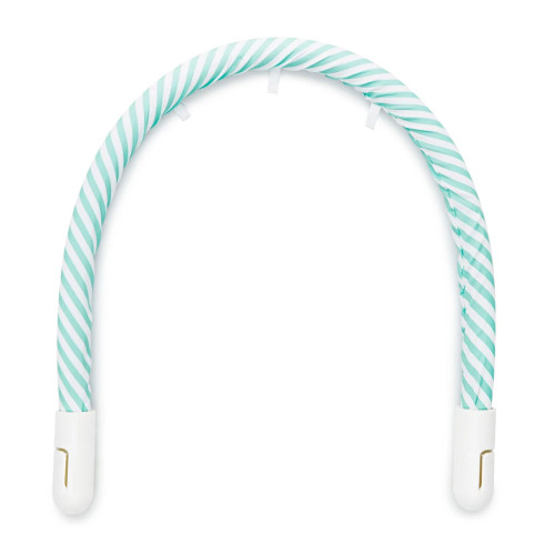DockATot Toy Arch - Aqua/White Stripe