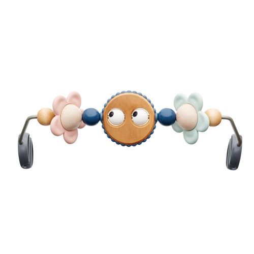 BabyBjorn Wooden Toy for Babysitter Balance Bouncer - Googly Eyes Pastels