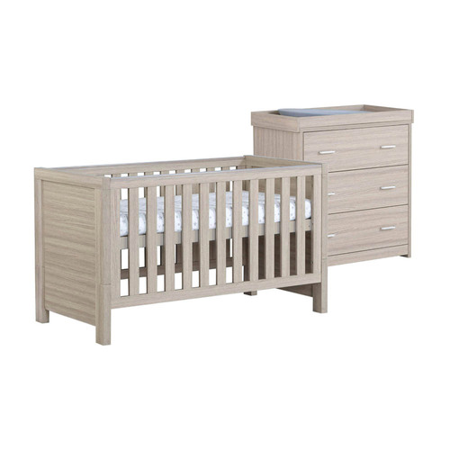 Babymore Luno 2-Piece Room Set - Oak
