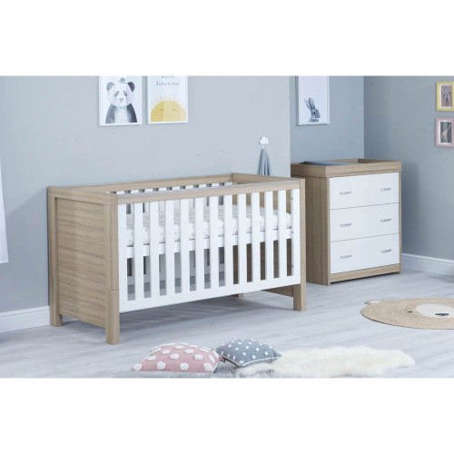 Babymore Luno 2-Piece Room Set - Oak/White