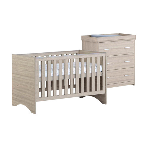 Babymore Veni 2-Piece Room Set - Oak