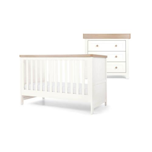 Mamas & Papas Keswick 2-Piece Set - White/Oak