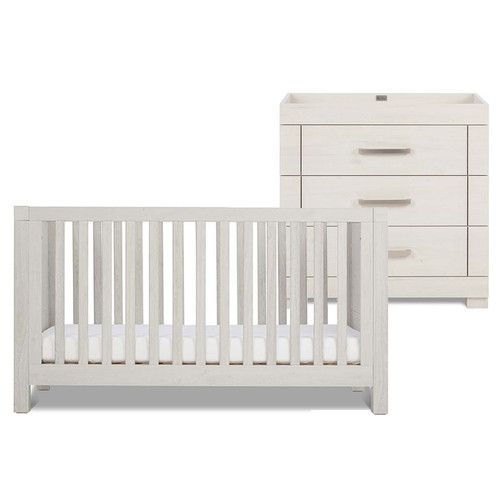 Silver Cross Coastline Cot Bed & Dresser