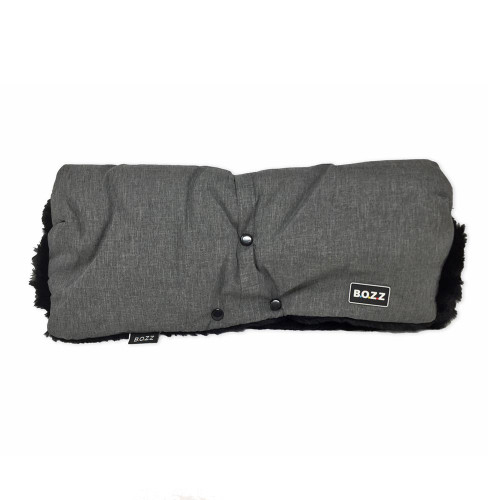 Bozz Hand Warmer Fleece - Grey Melange