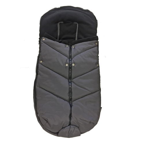 Bozz Ergo Footmuff - Dark Grey