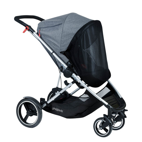 Phil & Teds Voyager Main Seat Sun Cover (on pushchair)