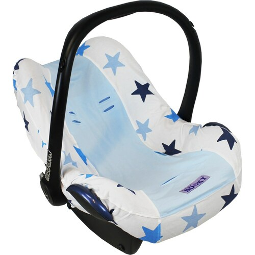 Dooky Infant Car Seat Cover 0+ - Blue Stars