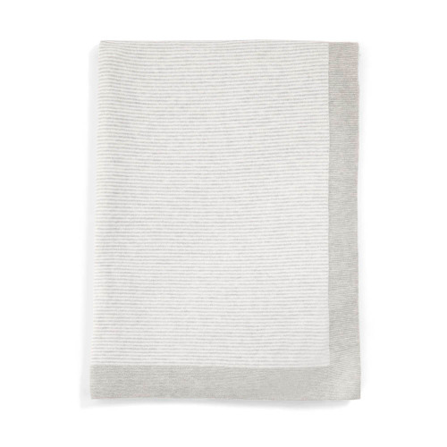 Mamas & Papas Knitted Blanket - 70 x 90cm - Cashmere Mix (folded)