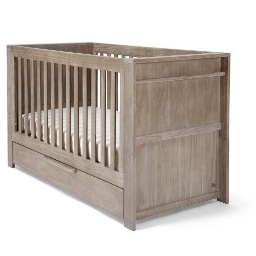 Mamas & Papas Franklin 2 Piece Set - Grey (cot angle)