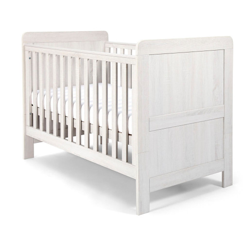Mamas & Papas Atlas Cot/Toddler Bed - Nimbus White