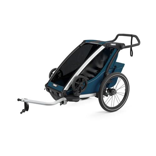 Thule Cross Double Chariot Bike Trailer - Majolica Blue
