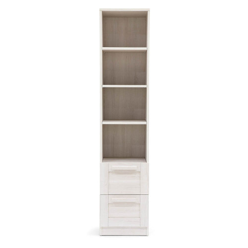 Mamas & Papas Atlas Bookcase - Nimbus White