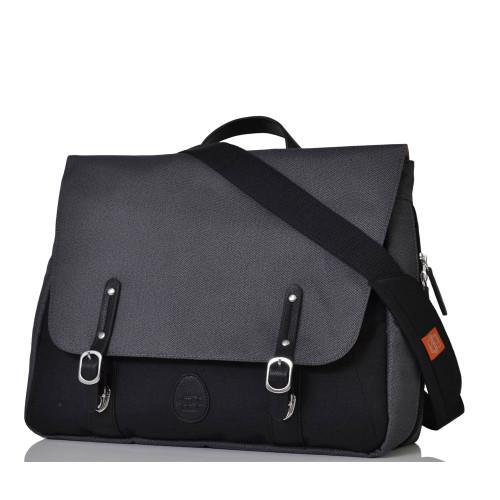 Pacapod prescott changing bag - black charcoal - front