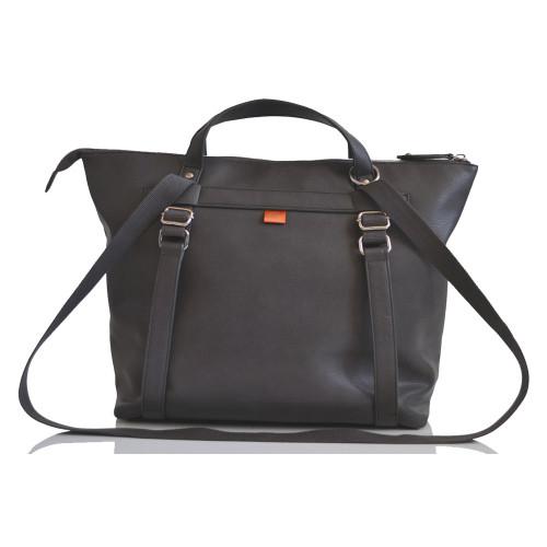 pacapod saunton changing bag - pewter - shoulder strap