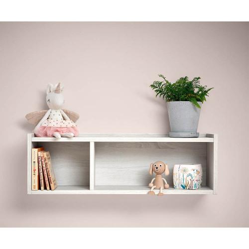 Mamas & Papas Altas Shelf - Nimbus White (lifestyle)