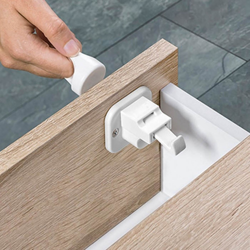 Fred Invisible Magnet Lock - Pure White