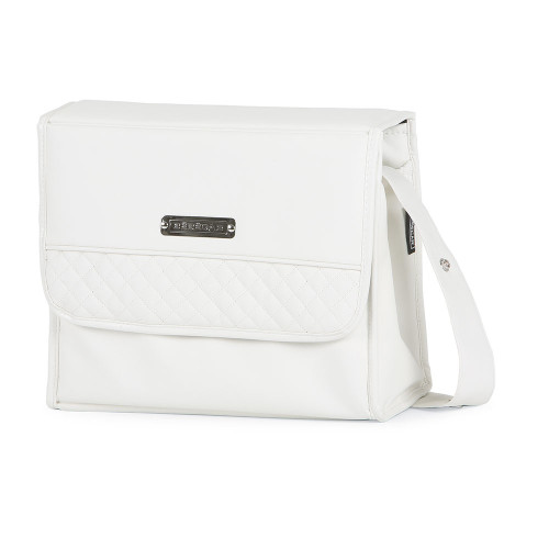 Bebecar Special Changing Bag Carre - White Delight (523)