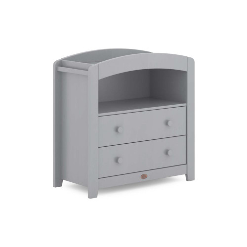 Boori Universal Curved 2 Draw Chest Changer - Pebble