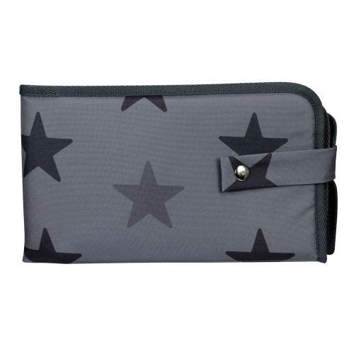 Dooky 3 in 1 Changing Pack - Grey Stars
