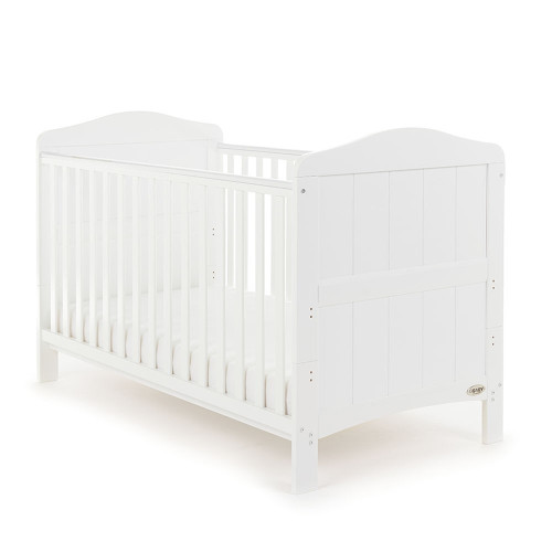 Obaby Whitby 2 Piece Room Set - White (cot)