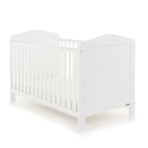 Obaby Whitby 3 Piece Room Set - White (cot)