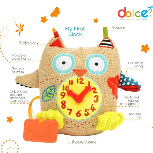 Dolce My First Clock (Owl)