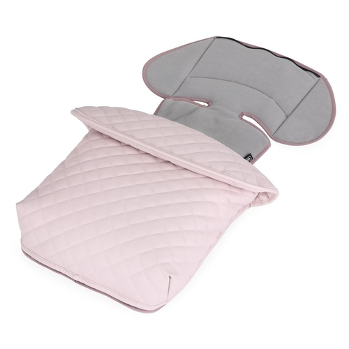 Bebecar Special Fleece Footmuff - Soft Pink (954)