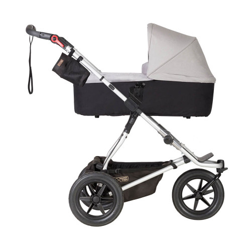 Mountain Buggy Carrycot Plus For Urban Jungle/Terrain/+One - Silver (Pushchair chassis is not included)