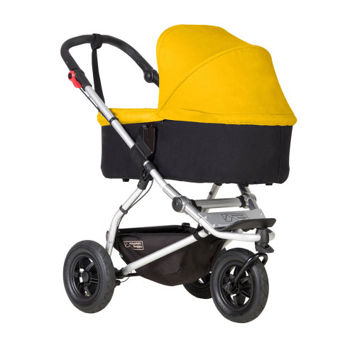 Mountain Buggy Carrycot Plus For Swift & Mini - Gold (Pushchair chassis is not included)
