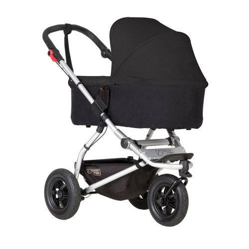 Mountain Buggy Carrycot Plus For Swift & Mini - Black