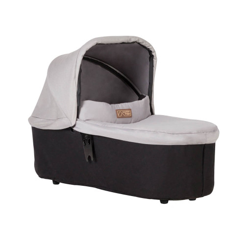 Mountain Buggy Carrycot Plus For Swift & Mini - Silver