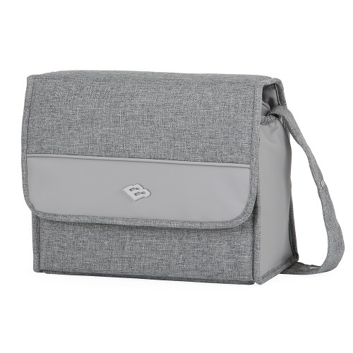 Bebecar Actual Changing Bag Carre - Platinum Grey (911)