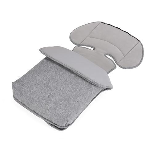 Bebecar Actual Fleece Footmuff - Platinum Grey (911)