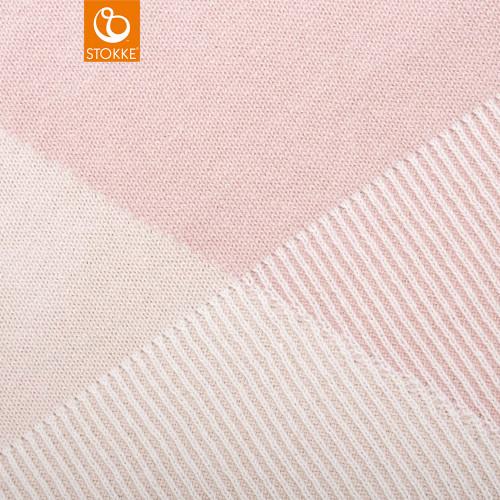 Stokke® Blanket Knit - Pink - detail