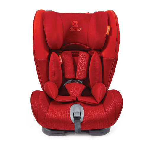 Diono Orcas Group 1/2/3 Car Seat - Red - front