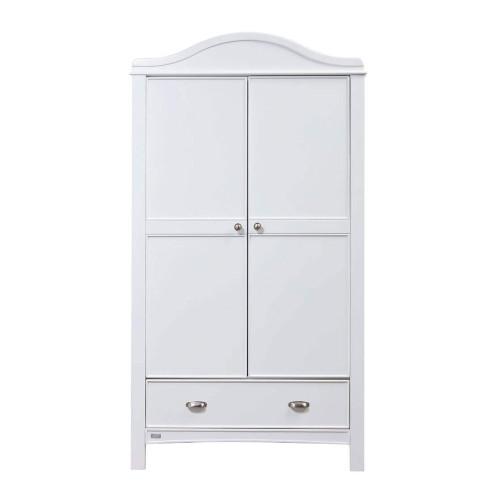 East Coast Toulouse Wardrobe - White