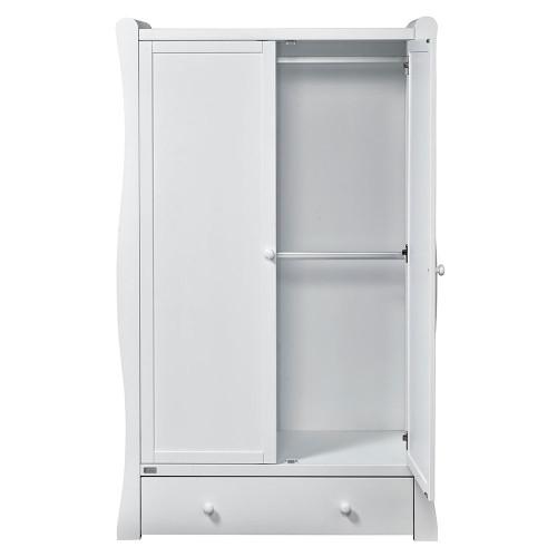 East Coast Nebraska Wardrobe - White - open