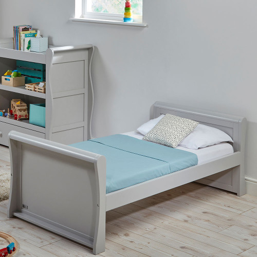 East Coast Nebraska Toddler Bed - Grey - lifestyle